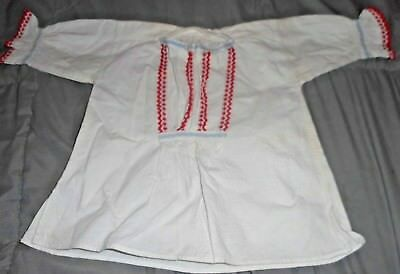 Antique VICTORIAN Cotton  Blouse for BABY OR DOLL