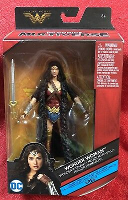 "DC Comics Multiverse Wonder Woman Caped Figure, 6"" - Justice League"