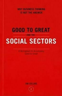 NEW Good to Great and the Social Sectors By Jim Collins Paperback Free Shipping