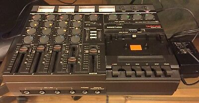 TASCAM Porta One Ministudio 4Channel Professional Cassette Recorder AS-IS L.A,CA