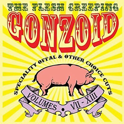 Andrew Liles-The Flesh Creeping Gonzoid: Speciality Offal  (UK IMPORT)  CD NEW