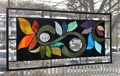 **BRANCHING OUT** Stained Glass Window Panel(Signed and Dated)