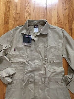 SAF-TECH 9. oz Coverall Indura Westex  COVERALLS Size  XL. HRC-2 Flight Suit