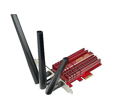 Asus PCE-AC68 Dual Band AC1900 PCI-E Wireless Adapter WiFi card