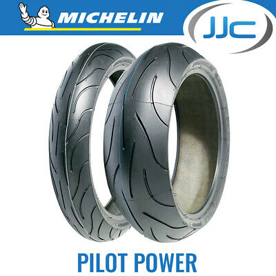 Michelin Pilot Power Sports Bike Tyres Pair - 120/70/17 (58W) & 160/60/17 (69W)