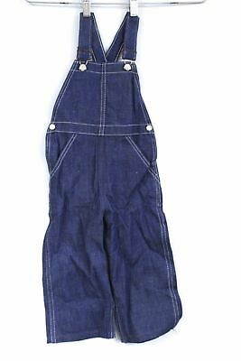 Vtg 40s 50s Gold Star Sanforized Denim Overalls NOS Dead Stock Boys  Size 2