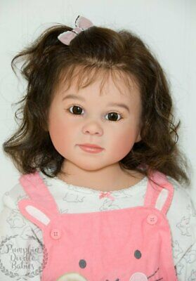 Custom Order Luca by Ping Lau Reborn Doll Baby Girl Toddler Sm Child