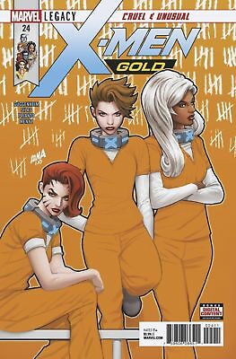 X-Men Gold #24 Marvel comic 1st Print 2018 NM ships in t-folder