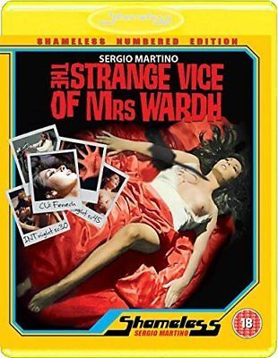 The Strange Vice of Mrs. Wardh (1971) Blu-Ray BRAND NEW Free Shipping