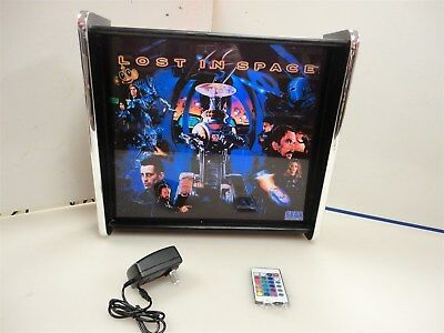 Lost IN Space Pinball Head LED Display light box
