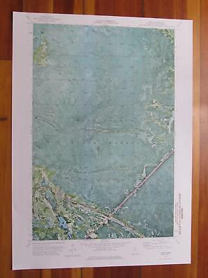 Ridge Minnesota 1976 Original Vintage USGS Topo Map