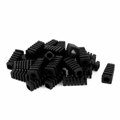 25 pcs Square Head Strain Relief Cord Boot Protector 14/2 16/3 AWG 27mm Length