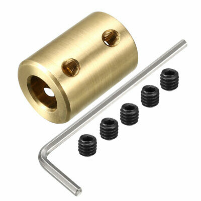 6mm to 8mm Copper DIY Motor Shaft Coupling Joint Adapter for Electric Car Toy