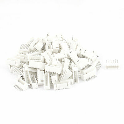 110pcs 1.8mm Pitch Right Angle Male 6 Pins JST Header Socket Connectors