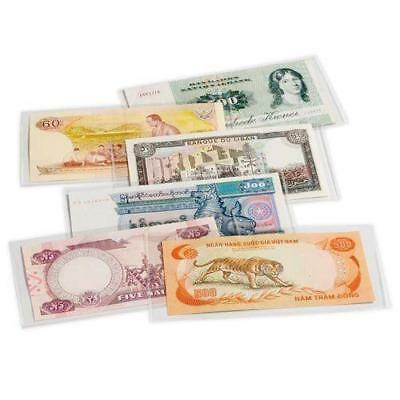 50 small Lighthouse banknote sleeves 170 x 86 mm