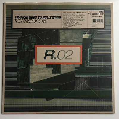 Frankie Goes To Hollywood - The Power Of Love - 12'' Vinyl Maxi - REP 2201