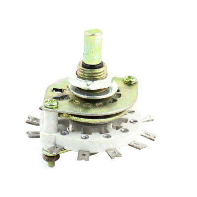 Spare Parts 1P11T 1 Pole 11 Position Ceramic Band Channel Rotary Switch Selector
