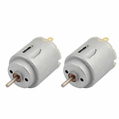 2PCS R140 DC 12V 20000RPM Electric Strong Magnetic Motor w Carbon Brush