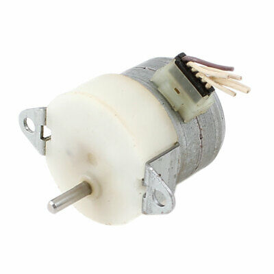3mm Shaft 2-Phase 6-Wire Mini Reducing Stepping Motor 4500RPM Speed