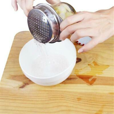 Stainless Steel Can Tin Food Drainer Kitchen Sweetcorn Strainer Sieve Drain LC