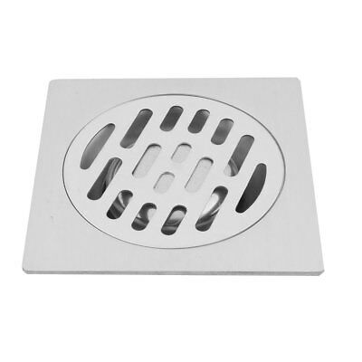 Canteen Stainless Steel Floor Drain Cover Strainer Hair Stopper Silver Tone