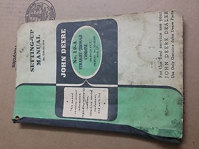 Vintage John Attachment No 12-A Setting-Up Manual (Lot 2)