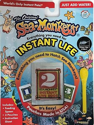 Amazing Live Sea Monkeys Original Instant Life Monkey 23231C