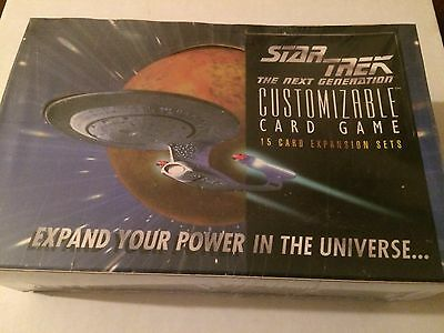 Star Trek CCG Limited Edition Booster box Sealed