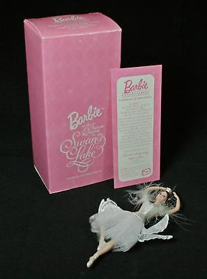 Avon Barbie as the Swan Queen in Swan Lake Porcelain Ornament 1998  NEW