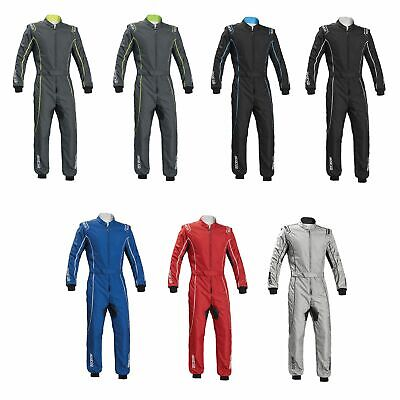 Sparco Groove KS-3 Level 2 FIA Approved 2 Layer Go Kart / Karting Suit - 002334