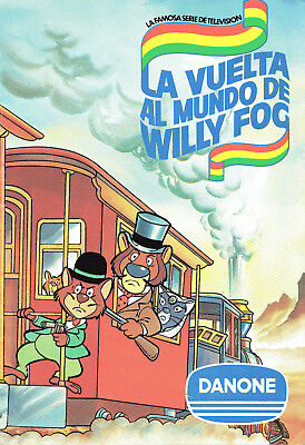 Willy Fog Album Completo Danone 1983
