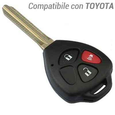 Case Key Car For Remote Control 3 Buttons Toyota Yaris Camry Rav4 Matrix
