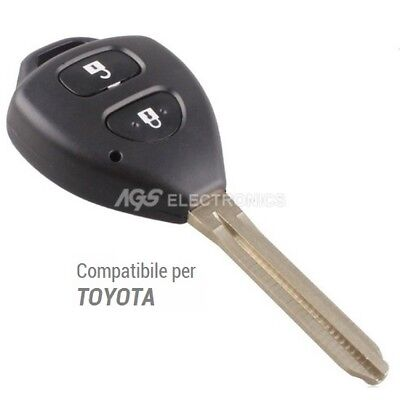 Case Key Car For Remote Control 2 Buttons Toyota Hilux Rav4 Corolla Yaris Camry