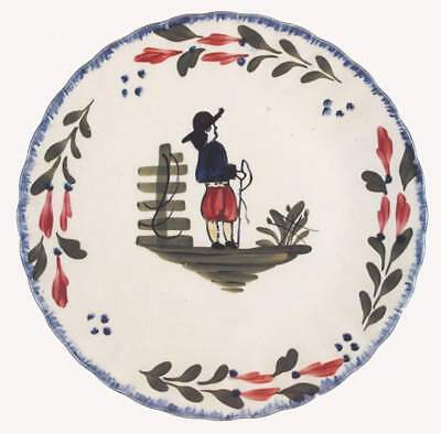 Blue Ridge Pottery FRENCH PEASANT Luncheon Plate B 6317760