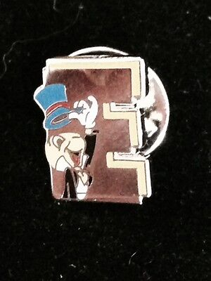 Disney Jiminy Cricket 'E' Cast Pinocchio Pin