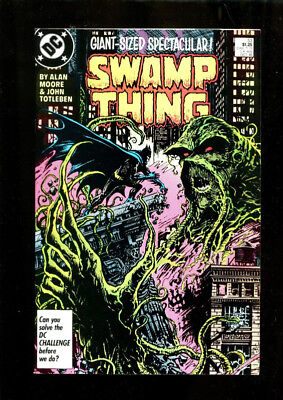 Swamp Thing #53 Dc Comics Alan Moore Batman Appearance 1986 Giant Sized Spec.