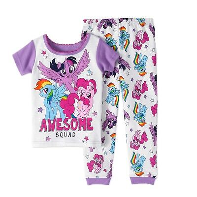 I Whaley Love You Infant Baby Girls Tight Fit Pajamas 2 Pc Set Pink Sz 12M 24M