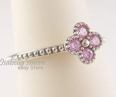 fb83ee453 ORIENTAL BLOSSOM Authentic PANDORA Pink FLOWER RING 191001PCZ PICK  Sz/Packaging
