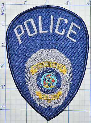 Wyoming, Mountain View Police Dept Patch