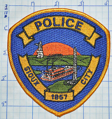 Iowa, Sioux City Police Dept Patch