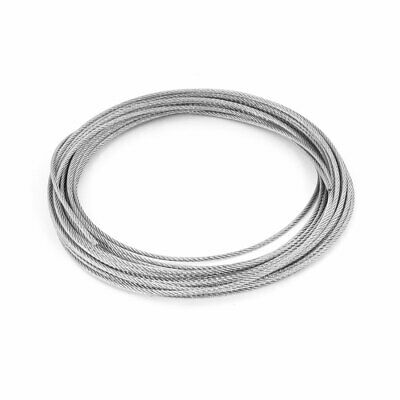 Grinding Machine 7x7 2.5mm Dia 10M Length Stainless Steel Wire Rope Cable