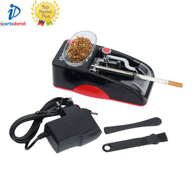 Electric Tobacco Cigarette Rolling Roller Automatic Injector Maker Machine New