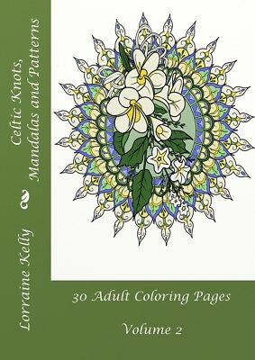 Celtic Knots Adult Coloring Book 30 Pages Mandala Lozs Art Thick