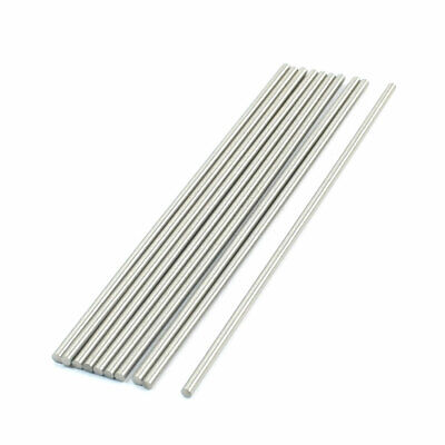 10pcs 6mmx100mm High Speed Steel HSS Round Turning Lathe Carbide Bars Rod