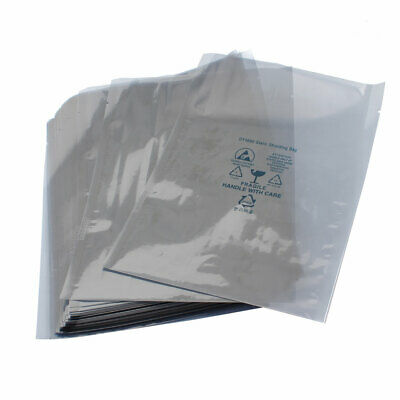 "50 Pcs 6"" x 8"" ESD PCB Board Anti-Static Shielding Bags"