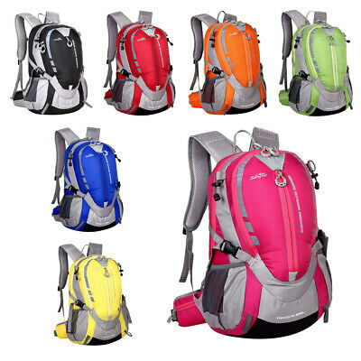 20-35L Hiking Backpack Waterproof Outdoor Daypack Rucksack Bag Pack Pouch