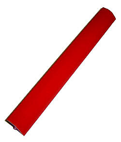 20 Ft    3/4  Inch Smooth  Red  T-Molding