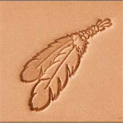 Tandy Leather 3d Stamping Tool 2 Feather - Craf Stamp Two 860000