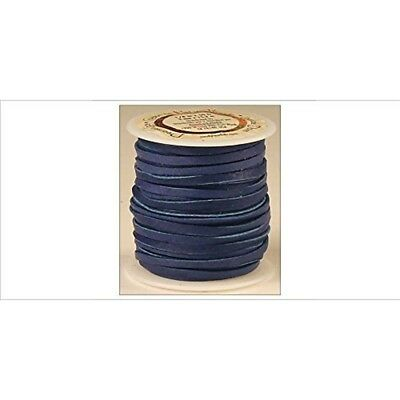 """Tandy Leather Deerskin Lace 1/8"""" x 50 Ft Royal Blue 5067-12"""