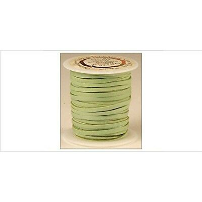 """Tandy Leather Deerskin Lace 3/16"""" x 36 Ft Light Green 5068-11"""